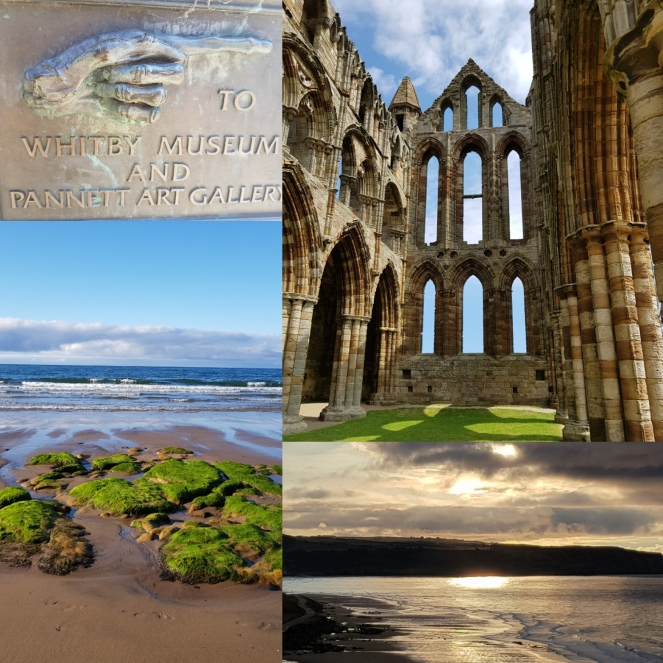 Images of Whitby taken in July 2018